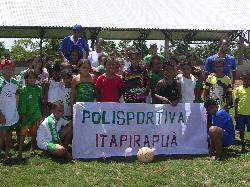 "PROGETTO UISP : "" COM SUAS PERNAS ""   ITAPIRAPUÀ    GOIÀS   BRASILE 2009 – 2010"